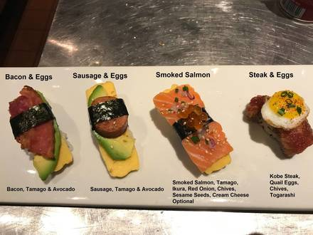 Hot Woks Cool Sushi - Millennium Park best chicago rooftop restaurants;