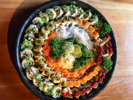 Hot Woks Cool Sushi - Millennium Park best greek in chicago;