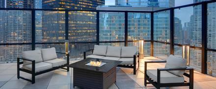 Hoyt's Chicago best chicago rooftop restaurants;