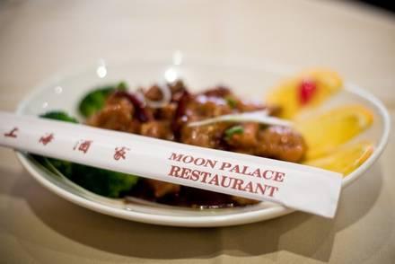 Moon Palace Restaurant best greek in chicago;