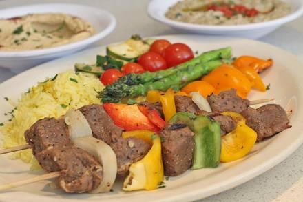 Cedars Mediterranean Restaurant best chicago rooftop restaurants;