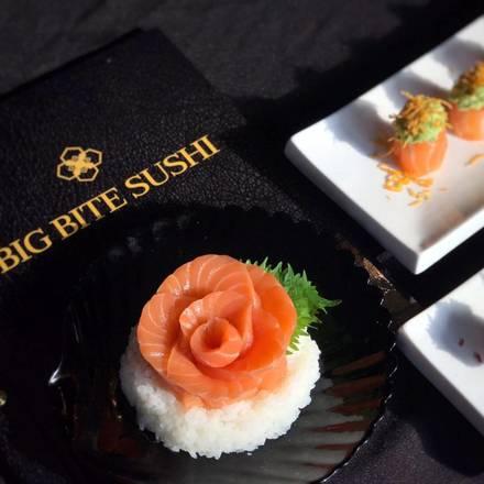 Big Bite Sushi best comfort food chicago;