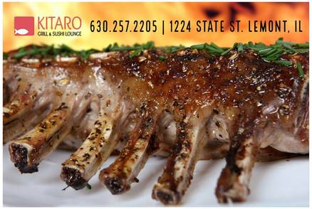 Kitaro Grill and Sushi Lounge best greek in chicago;