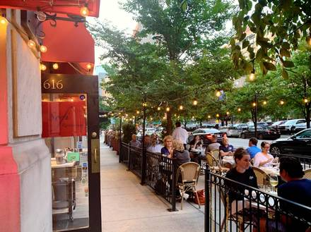 Sofi Restaurant best greek in chicago;