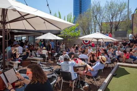 Saint Lou's Assembly best chicago rooftop restaurants;