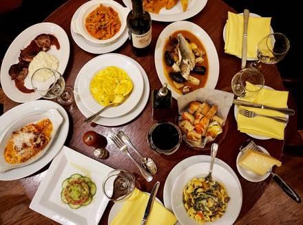 Riccardo Trattoria best chicago rooftop restaurants;