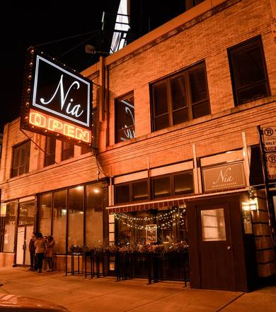 Nia best restaurant chicago;