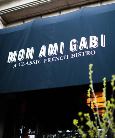 Mon Ami Gabi best ramen in chicago;