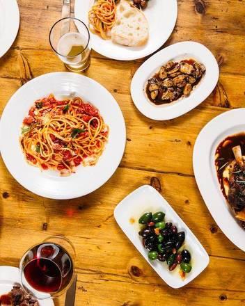 Osteria Via Stato best chicago rooftop restaurants;