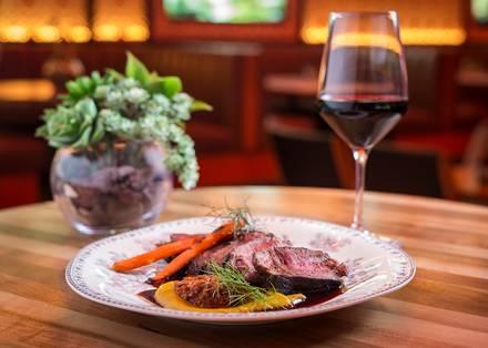 ROOF on theWit best german restaurants in chicago;