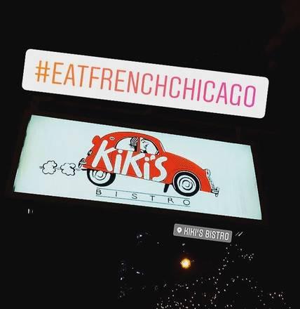 Kiki's Bistro best restaurant in chicago;