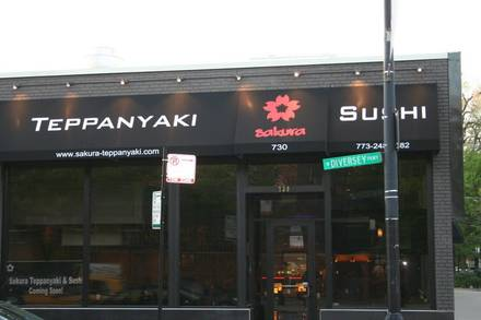 Sakura Teppanyaki & Sushi Bar best german restaurants in chicago;
