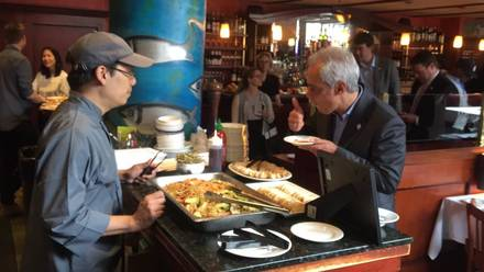 Ukai Sushi best french bistro chicago;