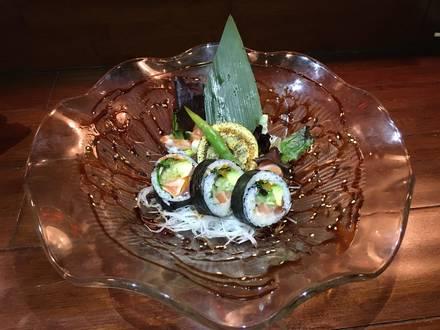 Ukai Sushi best fried chicken in chicago;