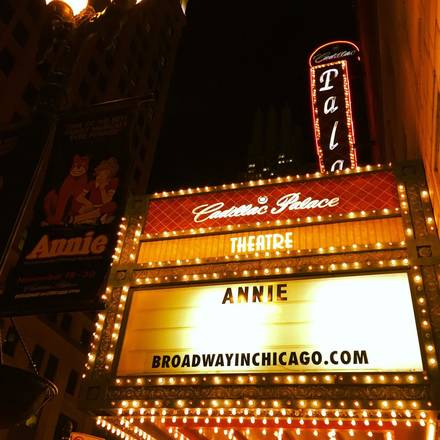 Cadillac Palace Theatre best chicago rooftop restaurants;