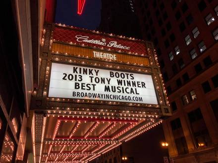 Cadillac Palace Theatre best fried chicken in chicago;