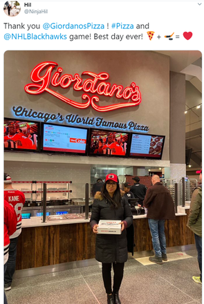 Giordano's (N. Rush St.) best fried chicken in chicago;
