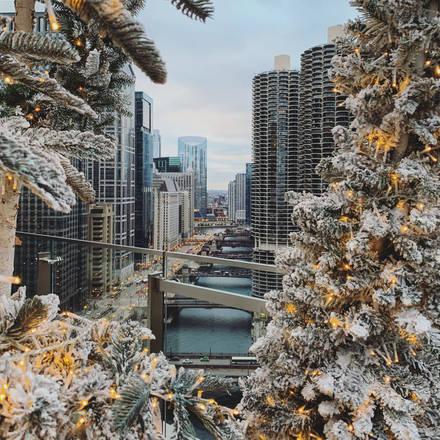 LondonHouse best chicago rooftop restaurants;