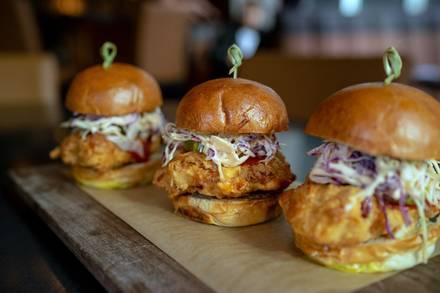 Sidebar Grille best chicago rooftop restaurants;