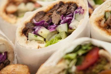 Mezza Grill - Madison Street best greek in chicago;