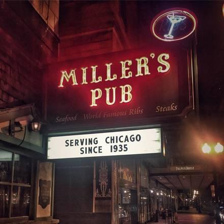 Miller's Pub best greek in chicago;