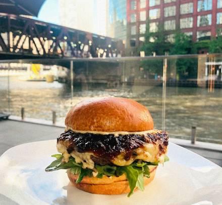 Porter Kitchen & Deck best greek in chicago;