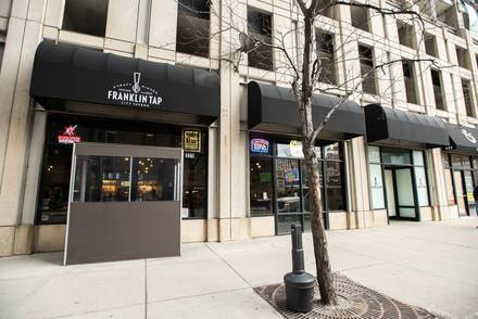 The Franklin Tap best italian restaurant in chicago;