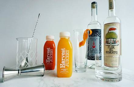 Harvest Juicery best greek in chicago;