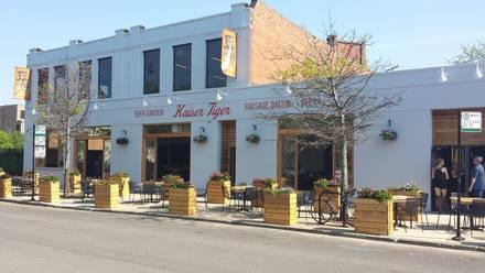 Kaiser Tiger best chicago rooftop restaurants;