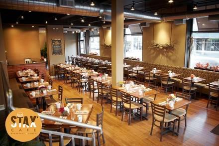Stax Cafe best greek in chicago;