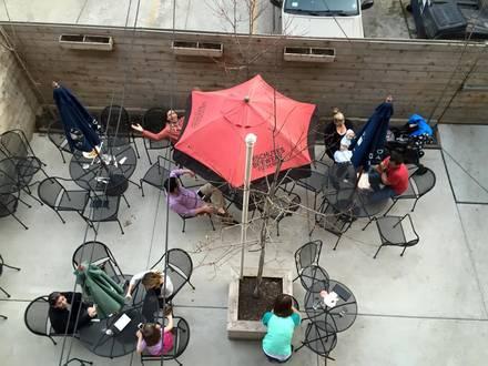 Third Rail Tavern best chicago rooftop restaurants;