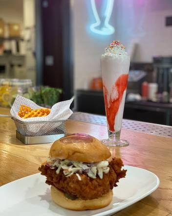 Umami Burger - West Loop best french bistro chicago;