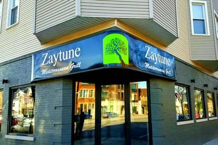 Zaytune Mediterranean Grill best comfort food chicago;
