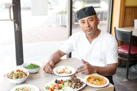 Zaytune Mediterranean Grill best ramen in chicago;