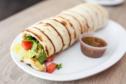 Zaytune Mediterranean Grill best chicago rooftop restaurants;