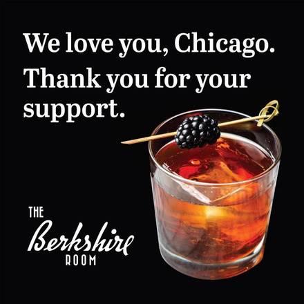 Berkshire Room best restaurants in downtown chicago;