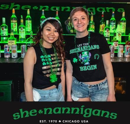 Shenannigans House of Beer best chicago rooftop restaurants;