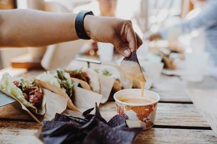 Velvet Taco best chicago rooftop restaurants;