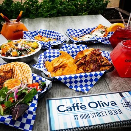 Caffe Oliva best fried chicken in chicago;