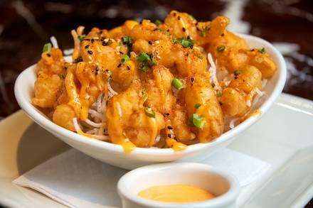 Grand Lux Cafe best fried chicken in chicago;