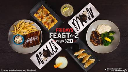 T.G.I. Friday's - Streeterville best comfort food chicago;