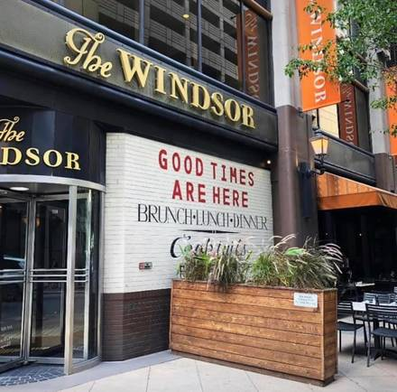 The Windsor best greek in chicago;