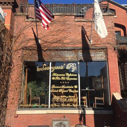Bourgeois Pig Cafe best comfort food chicago;