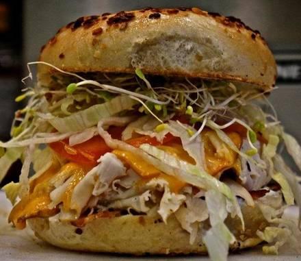 Chicago Bagel Authority best fried chicken in chicago;