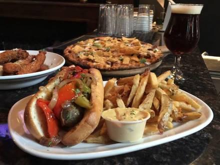 Compass Bar best comfort food chicago;