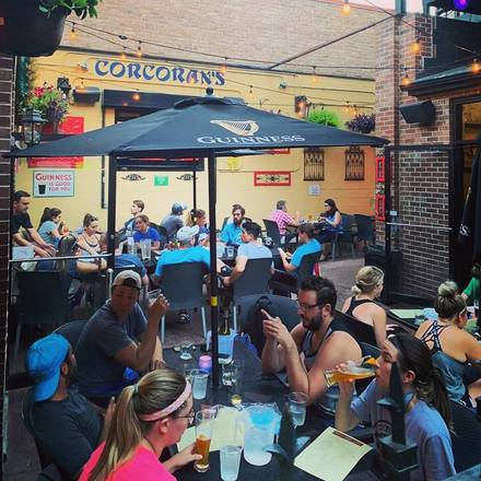Corcoran's Grill & Pub best chicago rooftop restaurants;