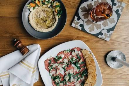 Citrine Cafe best chicago rooftop restaurants;
