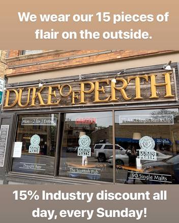 Duke of Perth best chicago rooftop restaurants;