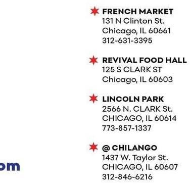Lito's Empanadas best italian restaurant in chicago;
