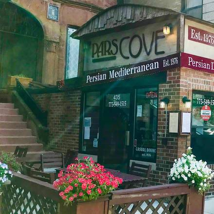 Pars Cove best greek in chicago;